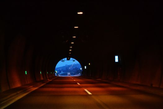 Photo free path, light, road