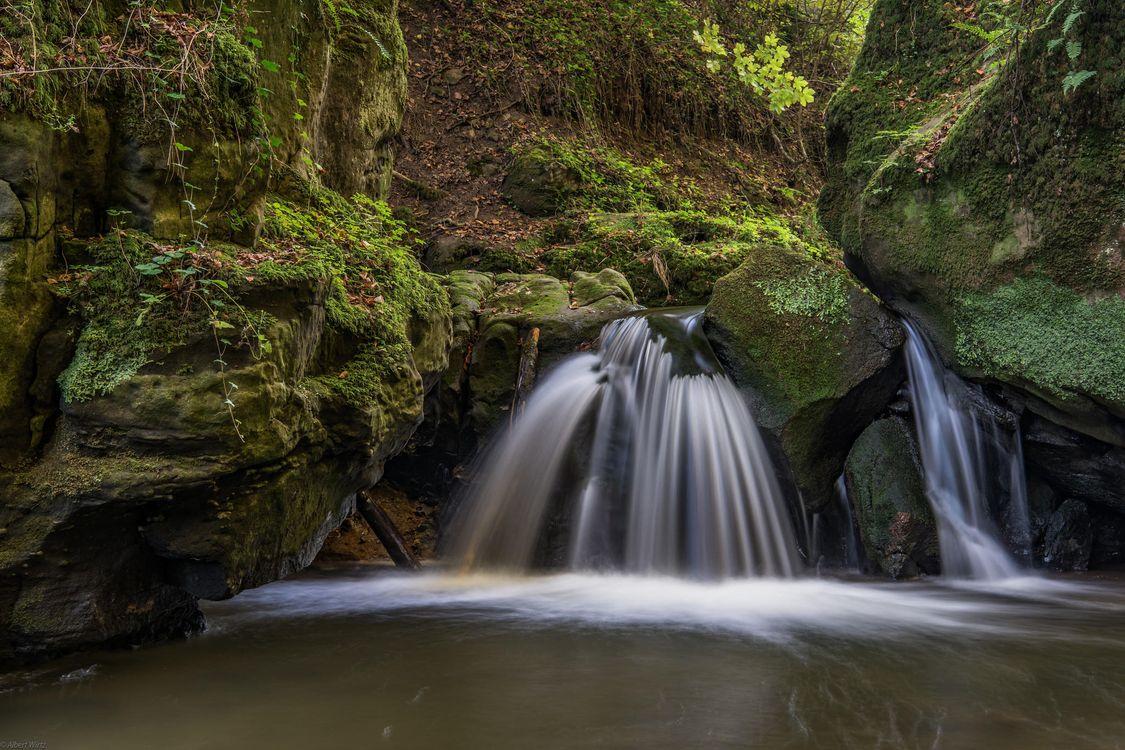 Фото бесплатно речка, водопад, скалы, камни, природа, природа