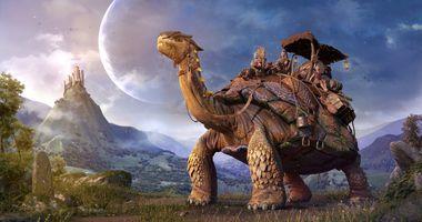 Фото бесплатно гигантская черепаха, фантастика, art