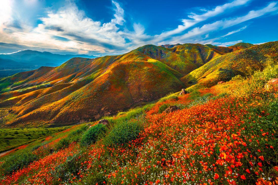 Фото весна штаты сша пейзажные облака - бесплатные картинки на Fonwall
