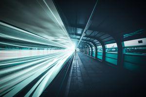 Железная дорога в тоннеле