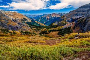 Фото бесплатно пейзаж, осень, горы Сан-Хуан