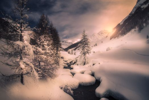 Photo free Trentino-Alto Adige, Italy, winter