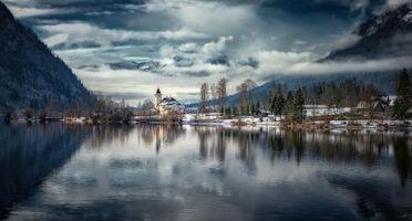 Заставки Альпы, Австрия, горы