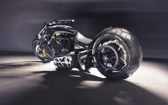 Photo free black, motorcycle, hamann soldador cruiser 2013