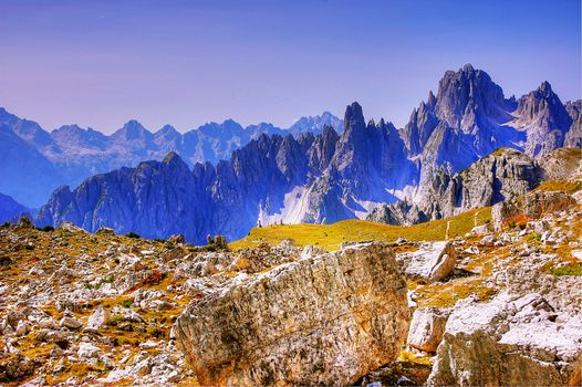 Photo free cadini, Dolomites, nature