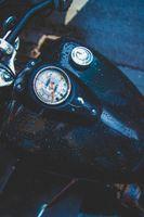 Фото бесплатно бак, мотоцикл, капли