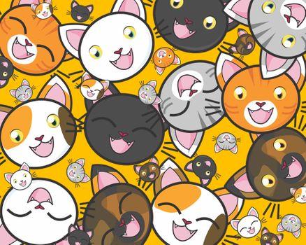 Фото бесплатно руководители кошка, Неко, милый
