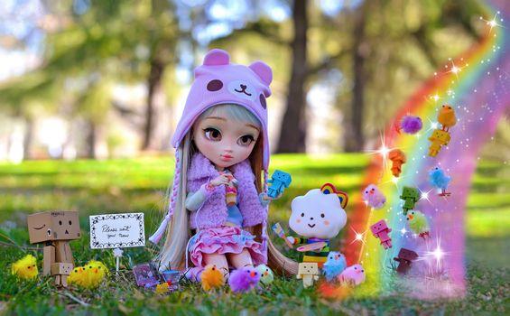 Фото бесплатно кукла, игрушка, взгляд