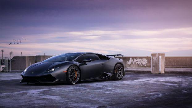 Photo free Lamborghini, wheels, Lamborghini Huracan