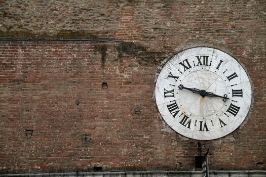 Photo free wood, clock, number