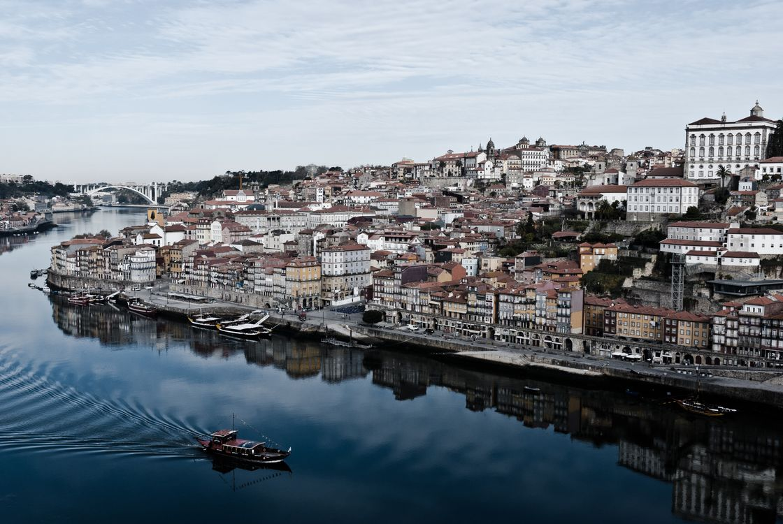Порт в Португалии · бесплатное фото