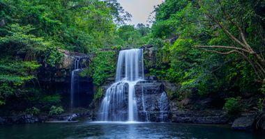 Фото бесплатно водоём, река, водопад