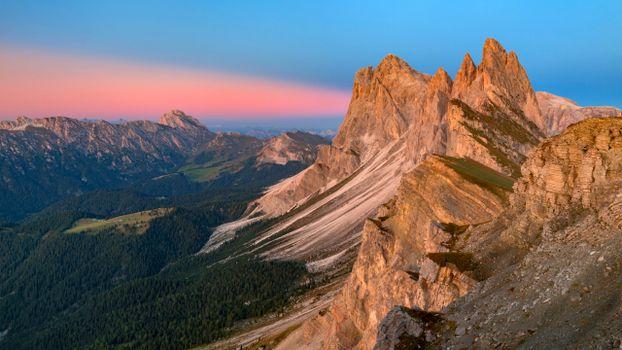 Photo free landscapes, mountain landscape, scenery alps