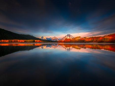 Фото бесплатно озеро парк, пейзаж сша, озеро сша