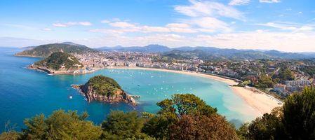 Фото бесплатно Испания, море, город