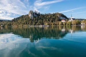 Заставки Словения, пейзаж, Блед
