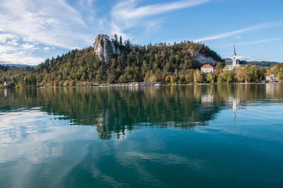 Фото бесплатно Словения пейзаж Блед - на рабочий стол