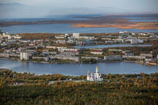 Фото бесплатно Мончегорск, Мурманская область, Россия