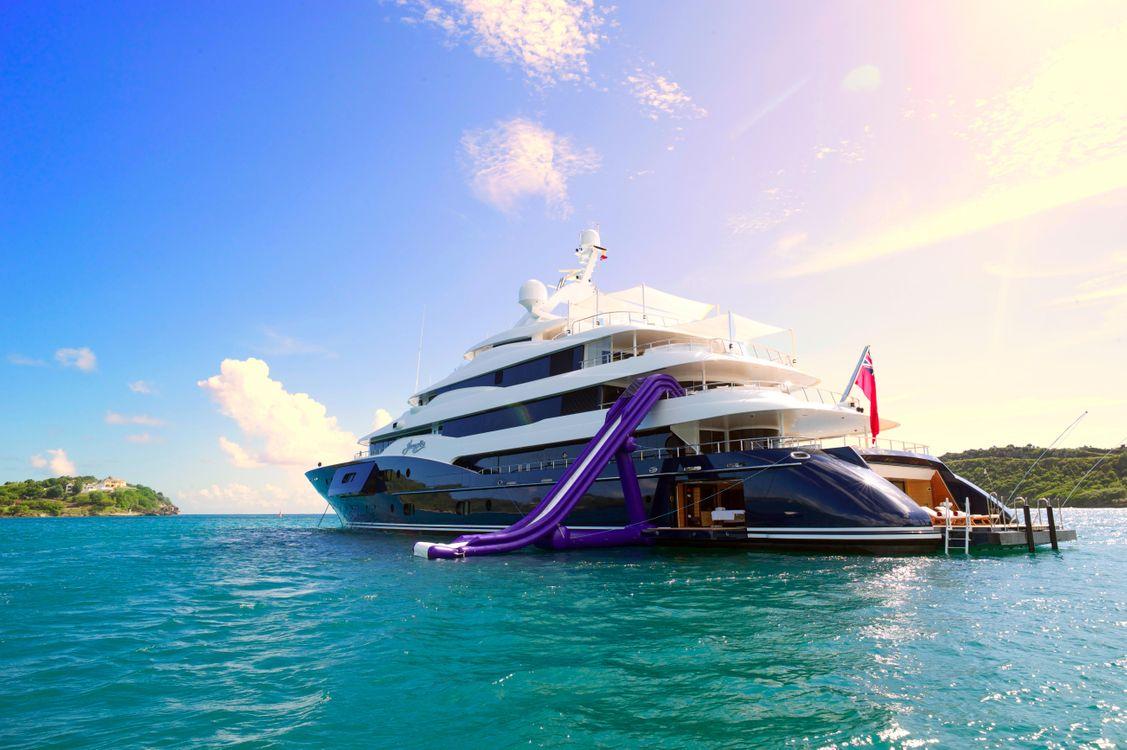 Фото бесплатно море, яхта, острова - на рабочий стол