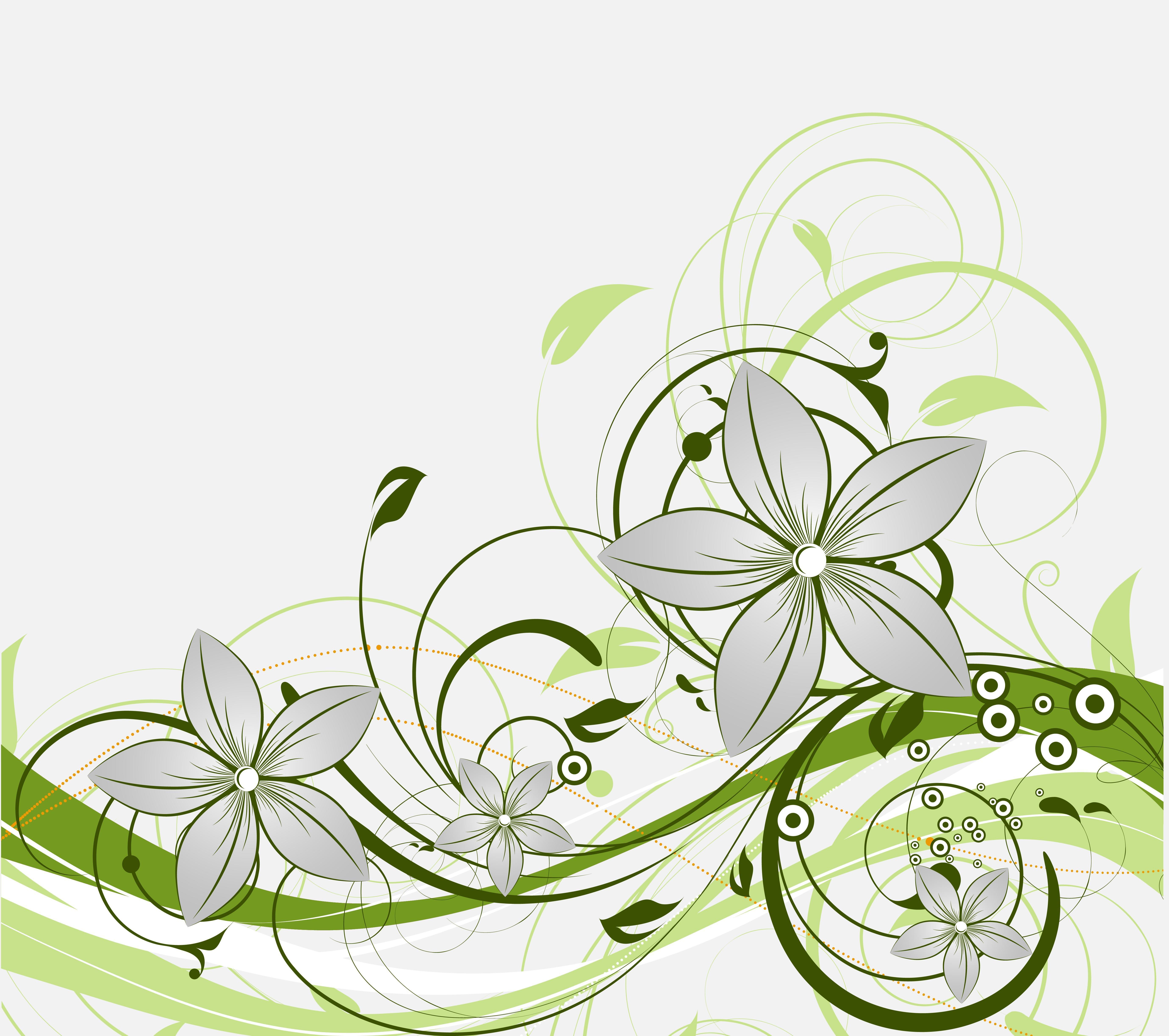 Обои текстура, вектор, узор, цветы