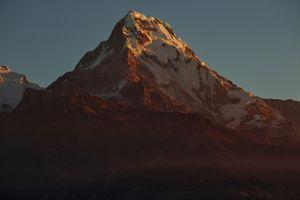 Бесплатные фото горы,Непал,гора,снег,закат,пейзаж