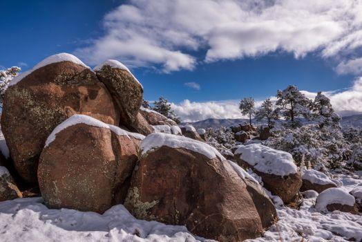 Заставки природа, США, зима