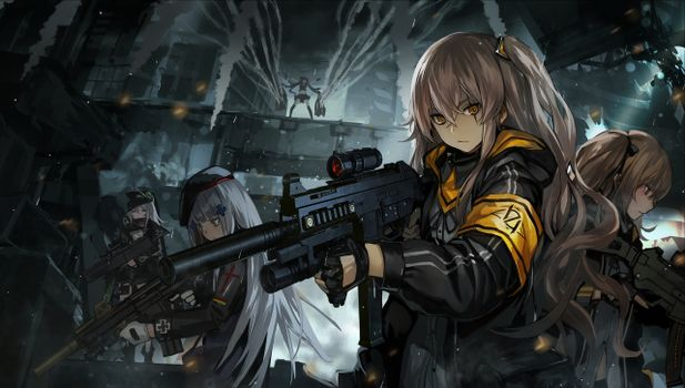 Photo free girls frontline, operation, heavy weapon