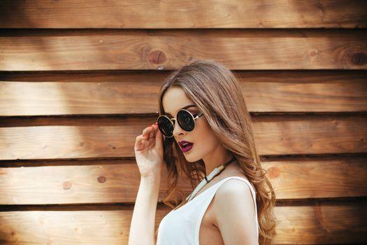 Photo free outdoor, sunglasses, model