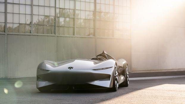 Photo free infiniti, futuristic cars, prototype
