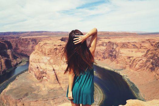 Фото бесплатно девушки, фотографии, каньон