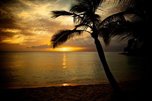 Фото бесплатно Гавайи, Мауи, закат