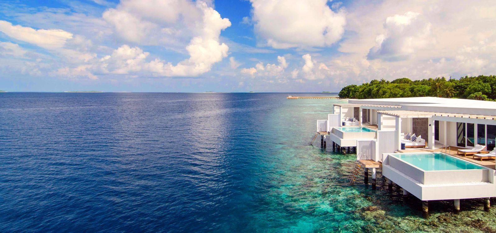 Фото бесплатно море, остров, тропики, курорт, пейзажи