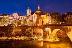 Заставки Церковь, Португалия, мост Сан-Гонсало