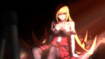 Фото бесплатно ошибочно Shinobu, аниме девушка, моногатари серия