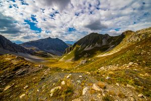 Фото бесплатно Швейцария Альпы, горы Швейцарии, облака