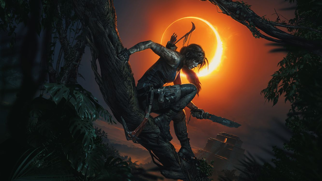 Обои иллюстрации, игры Xbox, Tomb Raider картинки на телефон