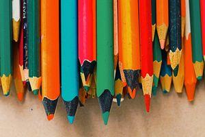 Цветные карандаши · бесплатное фото