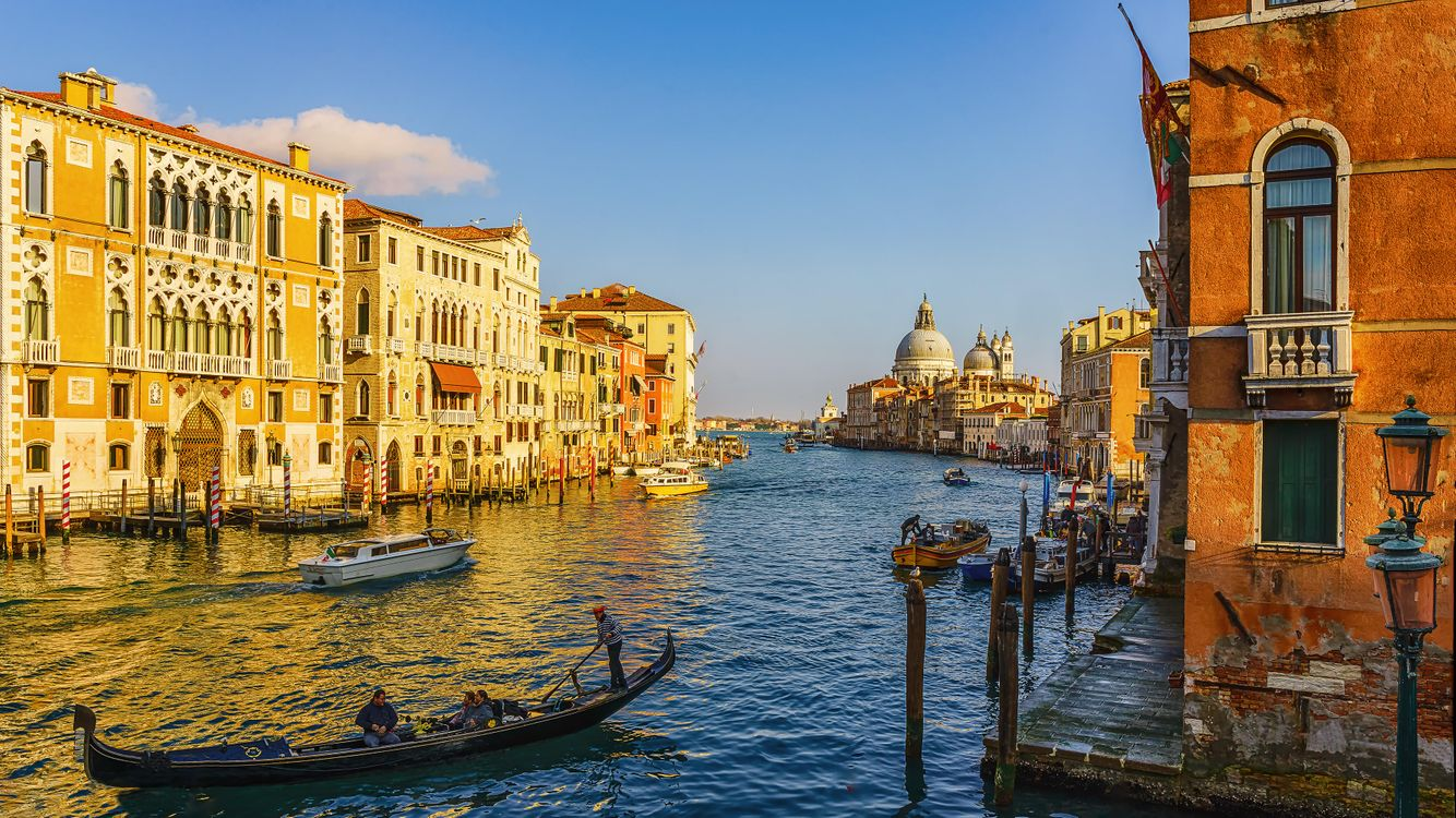 Фото бесплатно Венеция, Италия, Гранд-канал, город