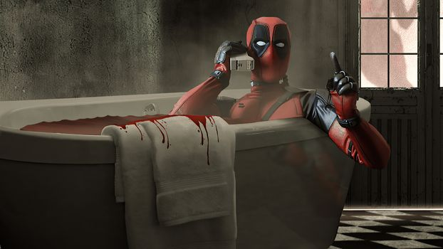Photo free Deadpool, artist, Behance