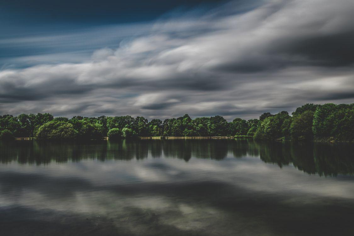 Озеро · бесплатное фото