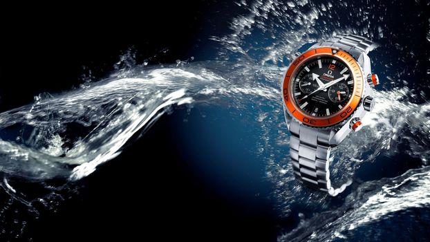 Фото бесплатно часы омега, скриншот, элитные часы