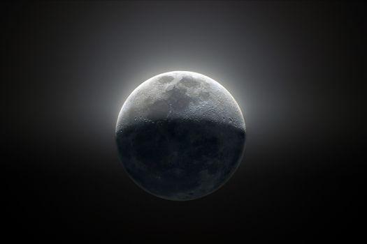 Фото бесплатно Цифровая Вселенная, черный, космос