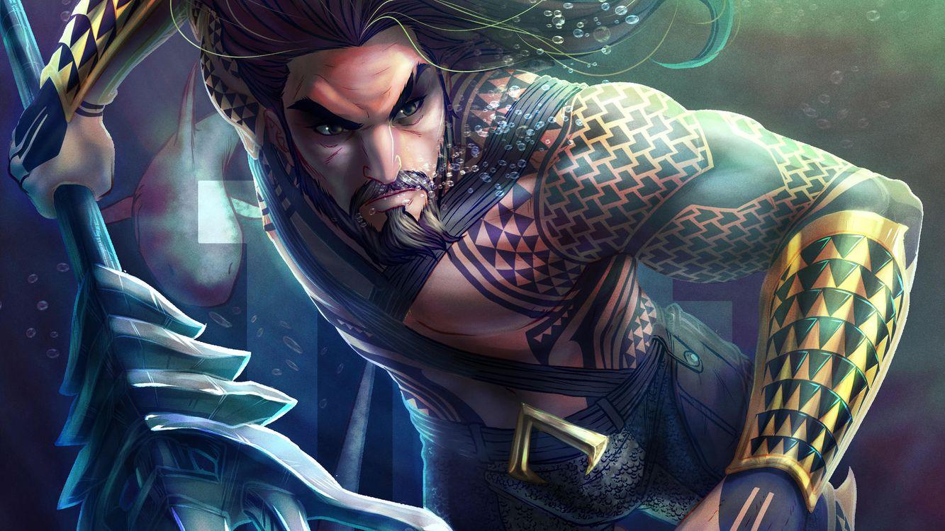 Фото бесплатно Aquaman, художественное Deviantart, супергерои - на рабочий стол