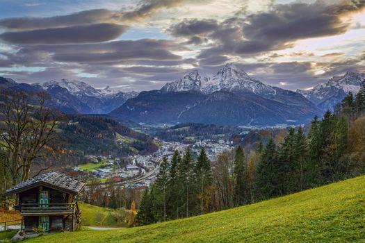 Бесплатные фото Берхтесгаден,Bavaria,Германия