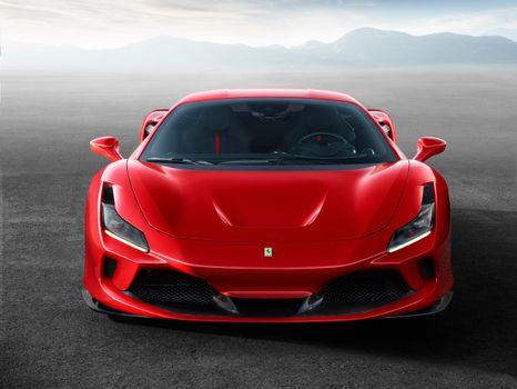 Фото бесплатно Ferrari F8 Tributo, автомобили, автомобили 2020 года