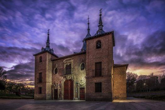 Фото бесплатно Мадрид, Испания, историческое здание