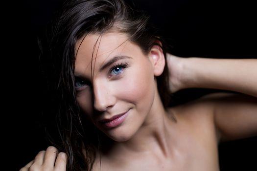 Фото красивое лицо, модель
