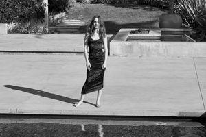 Фото бесплатно модель, черно-белое, девушки