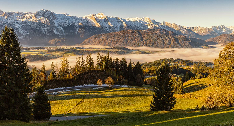 Фото природа Альпы Австрия - бесплатные картинки на Fonwall